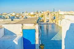 Tunis from the top Stock Images