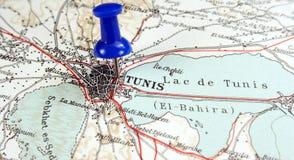 Tunis, Tunesië royalty-vrije stock foto
