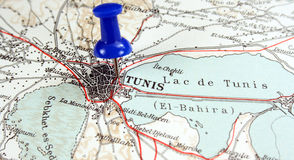 Tunis, Tunisia. The way we looked at it in 1949 royalty free stock photo