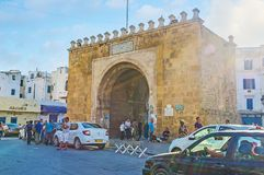 The Gate of France in Tunis Royalty Free Stock Images
