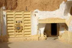 TUNISIA, AFRICA - August 03, 2012: Scenery for the film Stock Image