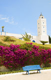 Tunisia Africa Sidi Bou Said mosque Royalty Free Stock Photos