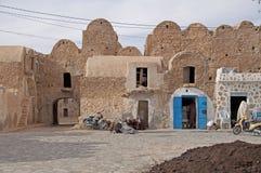tunisia arabska mała wioska Obrazy Royalty Free