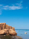 Tunisia coast Royalty Free Stock Images