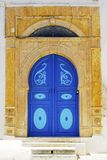Tunisia doorway Royalty Free Stock Photo