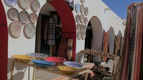 Tunisia, Douz, Bazaar. stock video