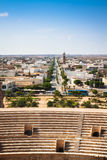 Tunisia El Jem roman apmphitheatre Royalty Free Stock Photos