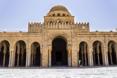 Tunisia Kairouan mosque. Muslim arabic worship Stock Images