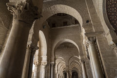 Tunisia Kairouan mosque Stock Images