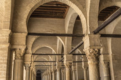 Tunisia Kairouan mosque Royalty Free Stock Photo