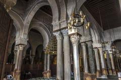 Tunisia Kairouan mosque. Muslim arabic worship Royalty Free Stock Photography