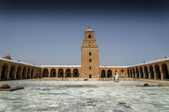 Tunisia Kairouan mosque Royalty Free Stock Image