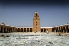 Tunisia Kairouan mosque Royalty Free Stock Image