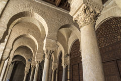 Tunisia Kairouan mosque Royalty Free Stock Photography