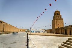 Tunisia Kairouan mosque Stock Photos
