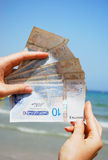 Tunisia money  dinars Stock Images