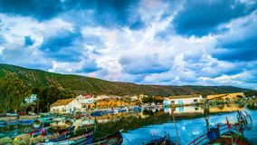 Tunisia nature ، Effects and tourisme. This picture for ghar milh in bizerte city from tunisia .. nIt is one of the most distinctive images I have. It is Royalty Free Stock Photos