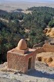 Tunisia- Oasis Chebika royalty free stock photos