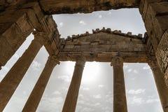 Tunisia Sbeitla. Roman city ruins temples Stock Images