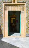 Tunisia, Sousse. September 19, 2016. Museum Dar Essid. Interior of an ancient Arab house. royalty free stock photo