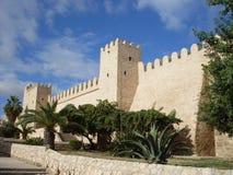 Tunisia, Suss. Fortress in Tunisia, town Suss Stock Photos