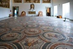 Tunisia. Tunis,  Roman mosaics in the Del Bardo museum Royalty Free Stock Photo