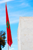 Tunisia  waving   in the blue and battlements  wave Stock Photos