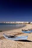 tunisian свободного полета шлюпок стоковые фотографии rf