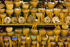 Tunisian bazaar trinkets Royalty Free Stock Photo