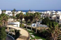 Tunisian beach scenery Royalty Free Stock Photography