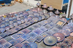 Tunisian Ceramics Stock Image