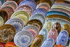 Tunisian ceramics Royalty Free Stock Photography