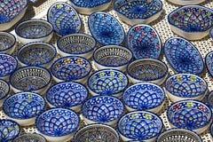 Tunisian ceramics Royalty Free Stock Photos