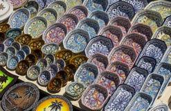 Tunisian ceramics Stock Images