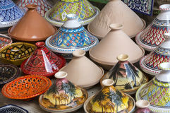 Tunisian ceramics Stock Photography