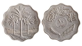 Tunisian coin Stock Photography