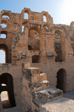 Tunisian Colosseum - dilapidated arches Royalty Free Stock Photography