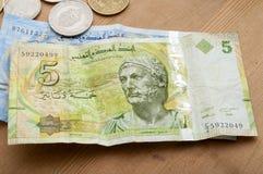 Tunisian currency, Tunisian dinars Royalty Free Stock Image
