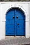Tunisian door Stock Image