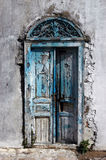Tunisian door stock photo
