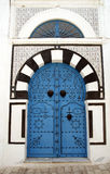 Tunisian door Stock Photography