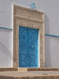 Tunisian door Stock Images