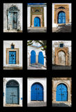 Tunisian doors Stock Photos