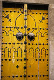 Tunisian doorway Royalty Free Stock Image