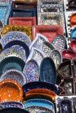 tunisian keramik royaltyfri bild