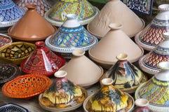 tunisian keramik arkivbild