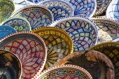 tunisian keramik arkivfoto