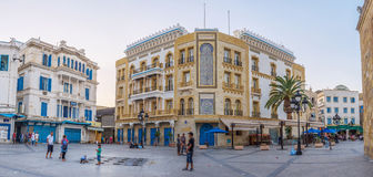The tunisian mansion Royalty Free Stock Photography