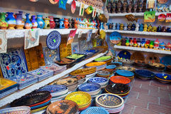 Tunisian market Stock Photo