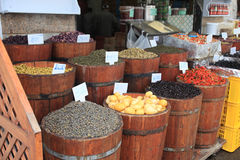 Tunisian market Royalty Free Stock Photo